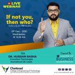 Webinar Organised by Chettinad College